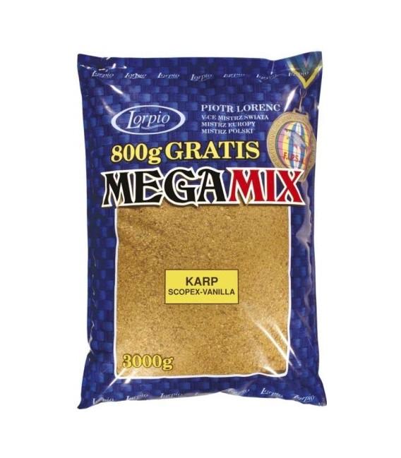 ZANĘTA LORPIO MEGA MIX KARP 3kg