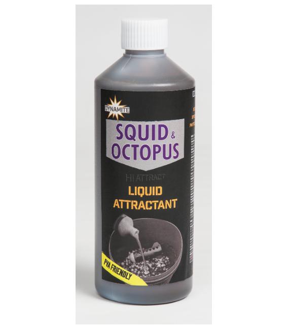 DYNAMITE BAITS Squid&Octopus Liquid Attractant 250 ML