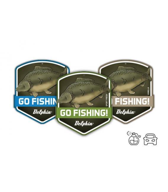 Delphin Zapach do auta Go Fishing Sport Fresh