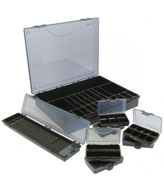 TACKLE BOX SYSTEM LARGE FIRMY Q-DOS