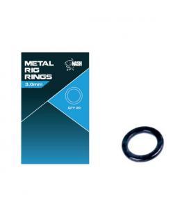 Nash Metalowe Pierścienie Metal Rig Rings 3.0mm