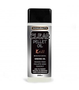 Sonubaits Clear Pellet Oil Krill 250ml