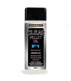 Sonubaits Clear Pellet Oil F1 250ml