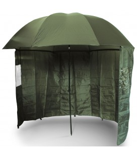 "PARASOL Z BOKAMI 45"" NGT Green Brolly with Zip on Side Sheet"