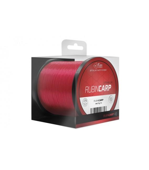 ŻYŁKA FIN RUBIN CARP 600m / czerwona 0,26mm 13,2lbs