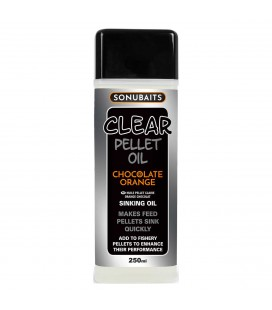 Sonubaits  Clear Pellet Oil Chocolate Orange 250ml