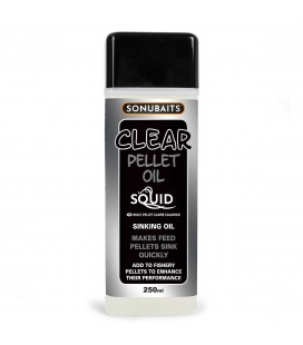 Sonubaits Clear Pellet Oil Squid 250ml