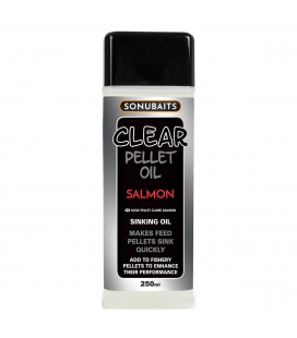 Sonubaits Clear Pellet Oil Samlon 250ml