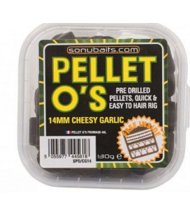 Sonubaits Pellet O'S - Cheesy Garlic 14mm